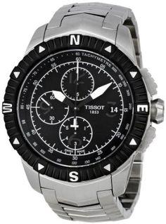 Tissot Mens T062.427.11.057.00 Black Dial T Navigator Watch