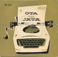 Ota Tai Jätä (1958, Vinyl) | Discogs Story Of My Life, Video Editing, 1950s, Album, Card Book
