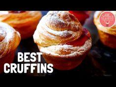 How to make Easy Cruffins Lemon Recipes, Jam Recipes, Summer Recipes, Baking Recipes, Kid Desserts, Delicious Desserts, Dessert Recipes, Recipes Dinner, Cake