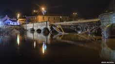 Environment Agency warns of potential for more floods, particularly in Cumbria, with multiple severe weather warnings in place Environment Agency, Weather Warnings, The Day Will Come, Severe Weather, North Yorkshire, Cumbria, Bbc News, About Uk, Bridge