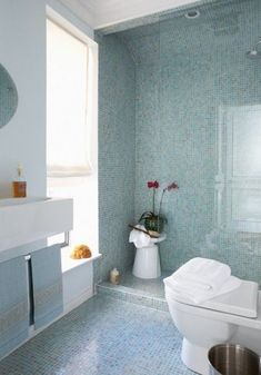 Design Trends: Design From the Ground up with Floor to Ceiling Bathroom Tile | Fireclay Tile Design and Inspiration Blog | Fireclay Tile