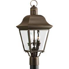 Progress Lighting P5487-20 Andover 3-light Post Lantern