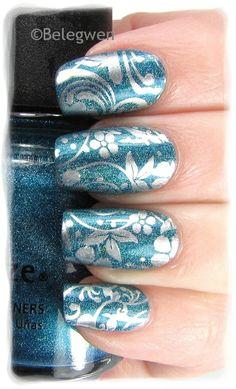 Nail Art by Belegwen #nail #nails #nailart