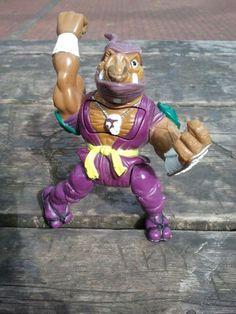 1992 Teenage Mutant Ninja Turtles Ninja Knockin' Bebop Figure