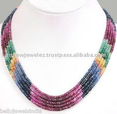 Source Rubies, Emeralds, Sapphires Necklace-Jewelry Wholesale on m.alibaba.com