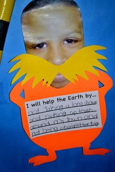 "Lorax Craftivity...i love this movie!.....Follow for Free ""too-neat-not-to-keep"" teaching tools & other fun stuff :)"
