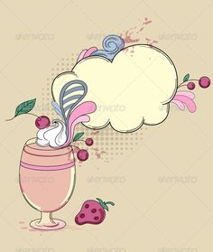 VECTOR DOWNLOAD (.ai, .psd) :: https://jquery.re/article-itmid-1003105921i.html ... Drink with Berry ...  berry, blot, cherry, cloud, cocktail, design, dessert, drawing, drink, fruit, goblet, menu, old, retro, strawberry, vector, vintage, wineglass  ... V