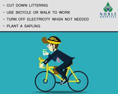 The cost of doing these things = Rs. 0, Benefits to Mother Earth = Priceless #EarthDay