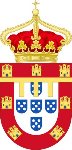Arms of the Heir Apparent to the throne of Portugal.