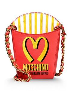 MOSCHINO Small leather bags - Item 45248304 by: MOSCHINO