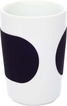 Five Senses touch! Maxi-Becher 0,35 l schwarz KAHLA Porzellan