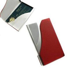 Wedding gift:kilofly Business Card Holder - Flip Style - Charles, with kilofly Mini Gift-for-You Card
