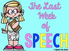 The Last Week of Speech! (Product Review)