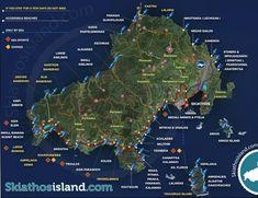 Skiathos tourist map