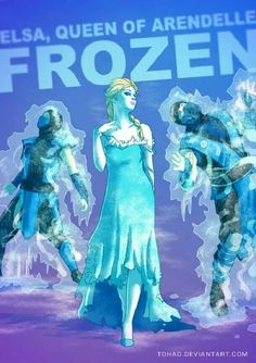 """Elsa, the Ice """"Witch"""""""