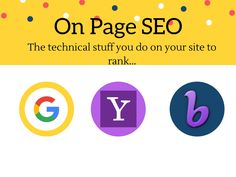 On-Page SEO -Primer Lesson