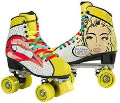Powerslide Women's Blondie Roller Skates - Yellow, Size 40 Powerslide http://www.amazon.co.uk/dp/B00NPYBQY2/ref=cm_sw_r_pi_dp_-goTvb1C9SHBE