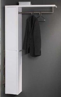 High Gloss Wandgarderobe mit Wandschrank Hochglanz weiss | eBay
