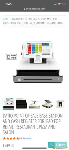 During these contactless times, we have the perfect POS for you. The face swivels and customers can swipe their own card!!   Co tact ya today with any questions you may have   Www.datiopos.com Point Of Sale, Cash Register, Pos, Times, Face, Shopping, Point Of Purchase, Faces, Facial