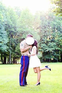 Marine engagement pictures (: