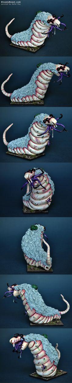 Skaven Hellpit Abomination  painted by Rafal Maj (BloodyBeast.com)