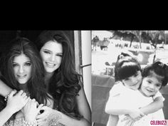 Kendall and Kylie Jenner Then & Now