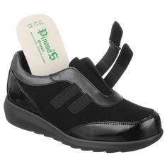 Pantofi sport ortopedici, pentru femei, piele naturala, captuseala CoolMax, Pinosos 7670-H. Gama de marimi fabricate: 36-42. Calapod mai lat, brant detasabil, talpi usoare si flexibile cusute integral. Mai, Adidas