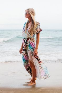 Bohemian Rhapsody Wrap Dress Pattern | AllFreeSewing.com