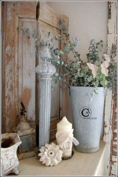velas Shabby chic by Pacolici