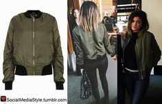 Buy Kylie Jenner's Keeping up with the Kardashians Green Bomber Jacket, here!