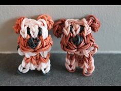 Rainbow Loom Nederlands, staand hondje - YouTube