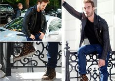 Sandro Jacket, Christian Louboutin Sneakers: Kudoss to jacket but dont like the sneakers though.