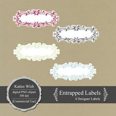KatiesWish: Free Entrapped Clipart