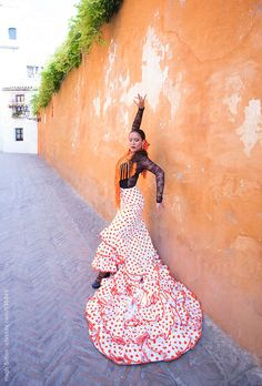 Stock photo of Professional Flamenco dancer. by hughsitton Flamenco Dancers, Belly Dancers, Ballet Dance, Strapless Dress, Spain, The Unit, Stock Photos, Tango, Image