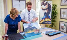 Home & Family - Tips & Products - Mark's DIY 3D Wall Art | Hallmark Channel  I have got to try this!!