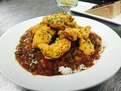 Fried Catfish Etouffee http://homerestaurantga.com/gallery/2015/8/3/fried-catfish-etouffe