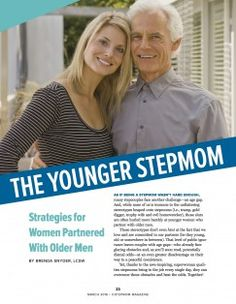 It's hard enough to be a stepmom without being labeled for your age. The strategies for younger stepmoms are the best! Find them inside the March 2016 issue of StepMom Magazine at: http://www.stepmommag.com/2016/03/01/younger-stepmoms/