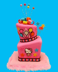 Hello Kitty Totts by Whimsy Cakes, via Flickr