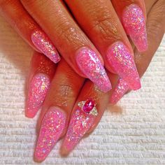 Love this dazzling set by @nailsbyray using Tammy Taylor Guilty Pleasure Prizma from the Eye Candy Collection! tammytaylornails.com