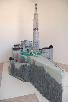 All sizes   LEGO Minas Tirith_3008   Flickr - Photo Sharing!