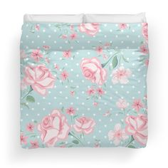 shabby chic,vintage,floral,flowers,roses,polka dots, pale pink, mint,white,elegant,chic,country chic,girly,modern,trendy