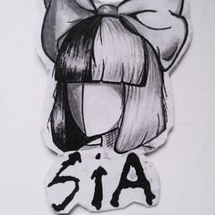 Sia ★ I luv her  #siaart #sia #siafanart #drawing #draw #draws #artwork #arte #art #artist #instadraw #instaartist #istaart #traditionalart#anime  #instadrawing #arts #fanart
