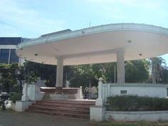 O Coreto da Praça Cívica.