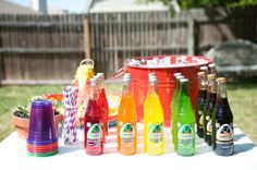First Birthday Fiesta party colorful Jarritos Mexican sodas » Emily McCall