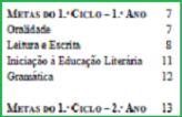 Metas Curriculares de Português, para o Ensino Básico