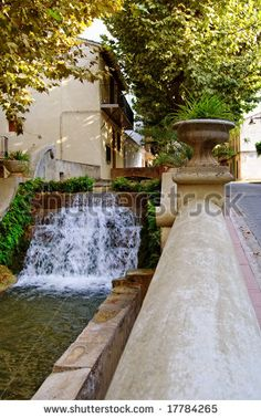 Spanish fountain in Anna (Valencia) by MilaCroft, via ShutterStock