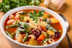 """""""vegetable pasta bowl soup"""""""