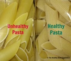 How to Find the Best Healthy Pasta (not shaped in Teflon!). Tips for buying healthy pasta (yes it's possible!)  http://www.thehealthyhomeeconomist.com/how-to-buy-healthy-pasta/
