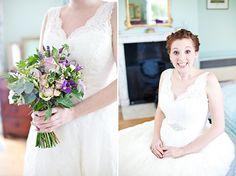 Sarah & Charlie's blooming beautiful wedding