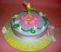 Torta/timkerbellcake